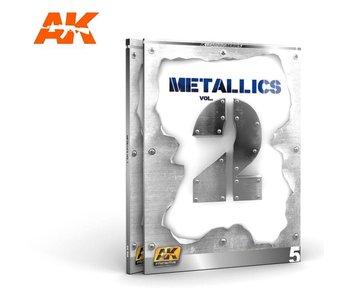 AK Interactive METALLICS VOL 2 (AK LEARNING SERIES N.5) English Book