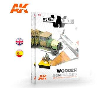 AK Interactive Worn Art Collection 01 - Wooden - English Book