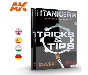 AK Interactive TANKER 10 TRICKS & TIPS (Special Edition) - English Book