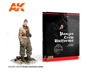 AK Interactive PANZER CREW UNIFORMS AK LEARNING SERIES No2 - English Book