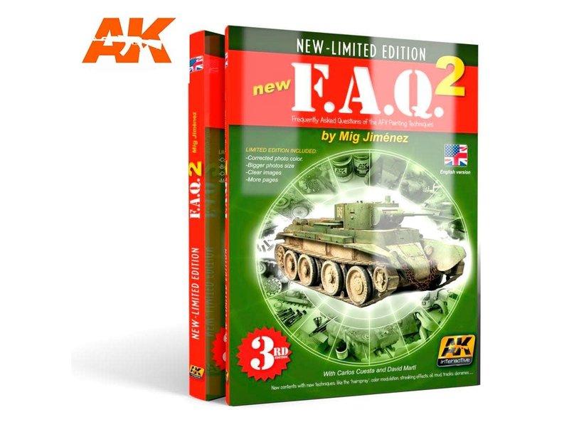 AK Interactive AK Interactive FAQ VOL.2 - English 4th edition Book