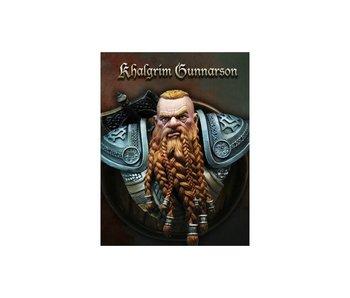 Bust To Scale Khalgrim Gunnarson Bust (SCB-004) (1:10)