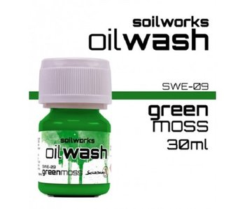 Oilwash Green Moss (SWE-09) (30 ml)