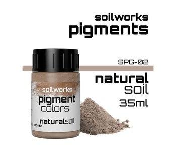 Pigments Natural Soil (SPG-02) (35 ml)