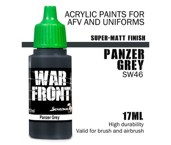 Scale Color War Front Panzer Grey (SW-46) (17 ml)