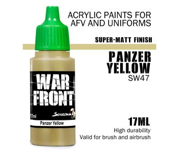 Scale Color War Front Panzer Yellow (SW-47) (17 ml)