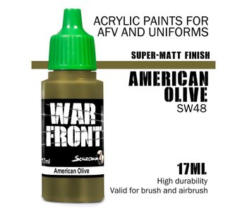 Scale Color War Front American Olive (SW-48) (17 ml)
