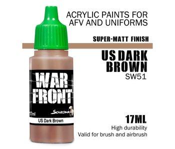 Scale Color War Front Us Dark Brown (SW-51) (17 ml)
