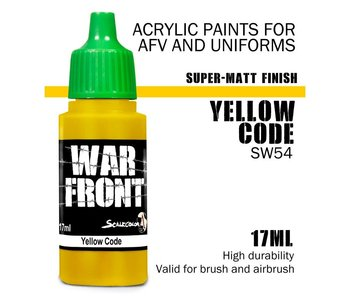 Scale Color War Front  Yellow Code (SW-54) (17 ml)