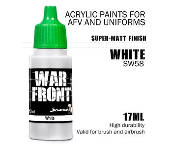 Scale Color War Front White (SW-58) (17 ml)