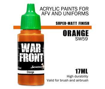 Scale Color War Front Orange (SW-59) (17 ml)