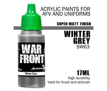 Scale Color War Front Winter Grey (SW-63) (17 ml)