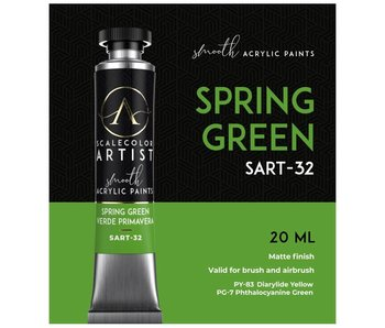 Scale Artist Color Spring Green (SART-32) (20 mL)