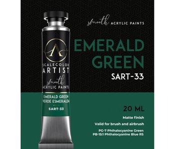 Scale Artist Color Emerald Green (SART-33) (20 mL)