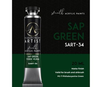 Scale Artist Color Sap Green (SART-34) (20 mL)