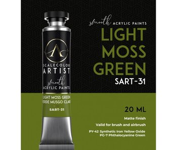 Scale Artist Color Light Moss Green (SART-31) (20 mL)
