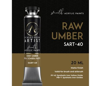 Scale Artist Color Raw Umber (SART-40) (20 mL)