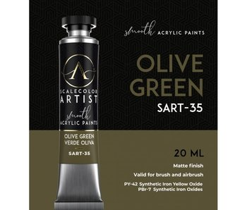 Scale Artist Color Olive Green (SART-35) (20 mL)