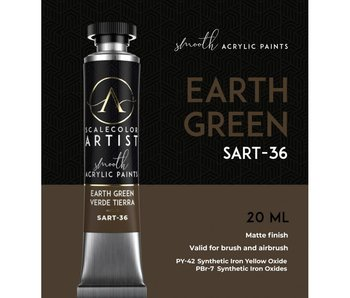 Scale Artist Color Earth Green (SART-36) (20 mL)