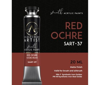 Scale Artist Color Red Ochre (SART-37) (20 mL)
