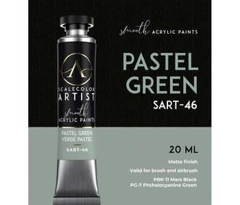 Scale Artist Color Pastel Green (SART-46) (20 mL)