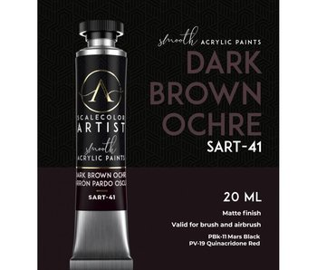 Scale Artist Color Dark Brown Ochre (SART-41) (20 mL)