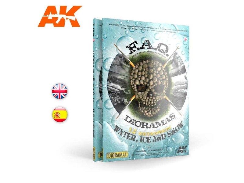 AK Interactive Ak Interactive Faq Dioramas 1.2 Extension Water Ice And Snow - English