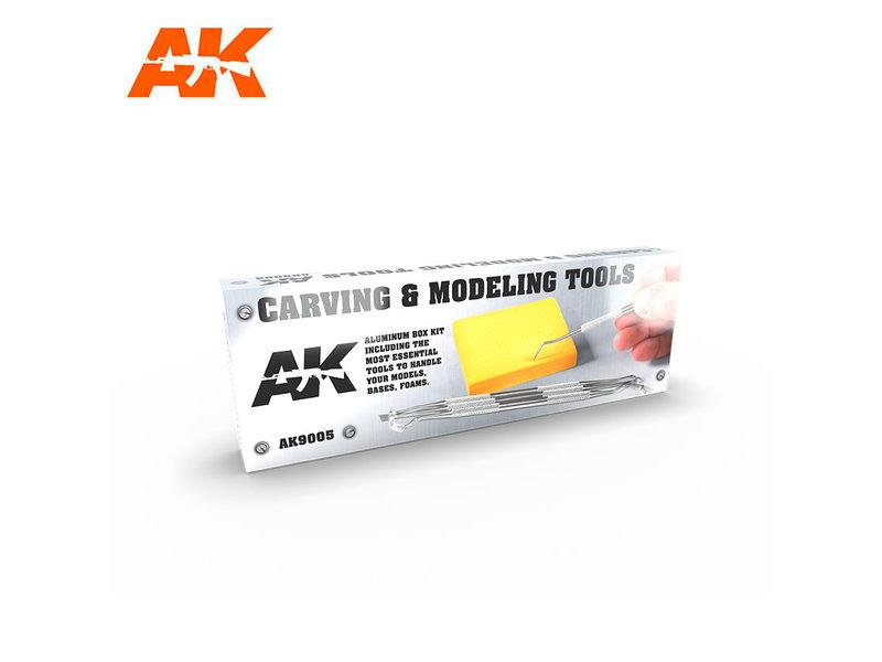 AK Interactive Ak Interactive Carving Tools Box