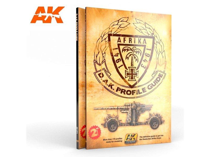 AK Interactive Ak Interactive D.A.K. Colors Profile Guide (2Nd Edition) - English