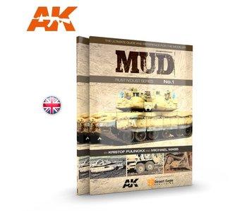 Ak Interactive Mud. Rust N'Dust Series Vol.1 - English