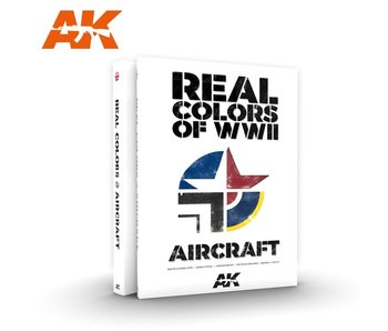 Ak Interactive Real Colors Of Wwii Aircraft -English