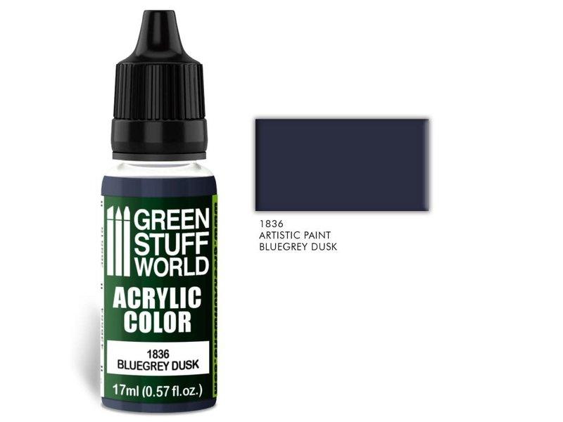 Green Stuff World GSW Acrylic Color BLUE GREY DUSK (1836)
