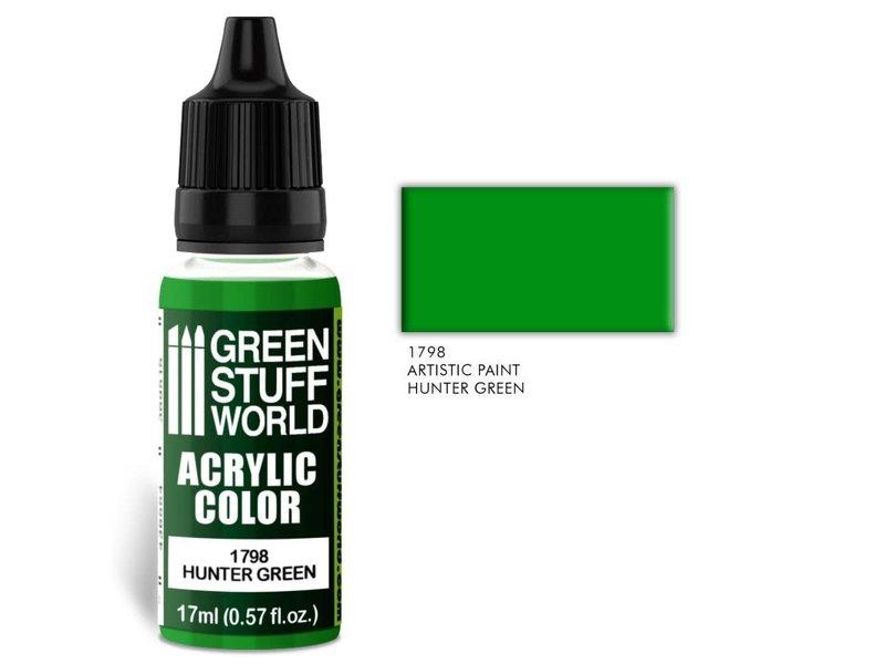 Green Stuff World GSW Acrylic Color HUNTER GREEN (1798)