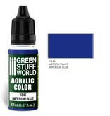 Green Stuff World GSW Acrylic Color IMPERIUM BLUE (1846)