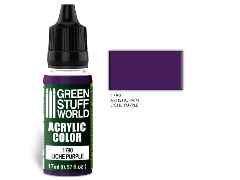 Green Stuff World GSW Acrylic Color LICHE PURPLE (1790)