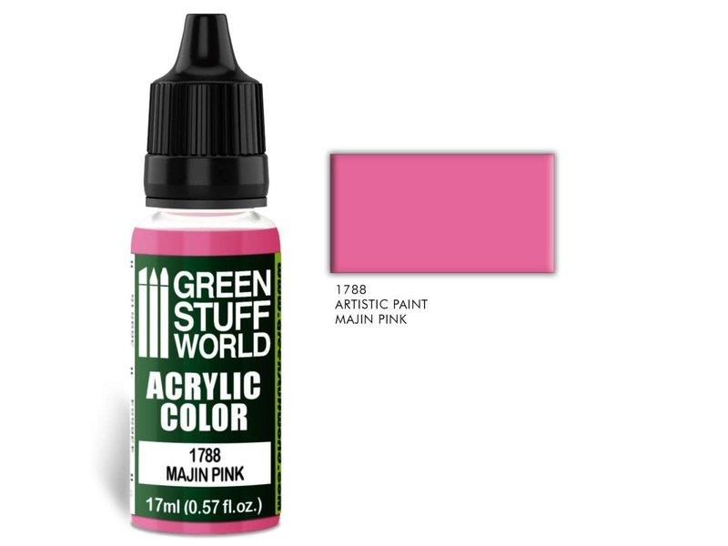 Green Stuff World GSW Acrylic Color MAJIN PINK (1788)