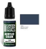 Green Stuff World GSW Acrylic Color MIRAGE BLUE (1840)