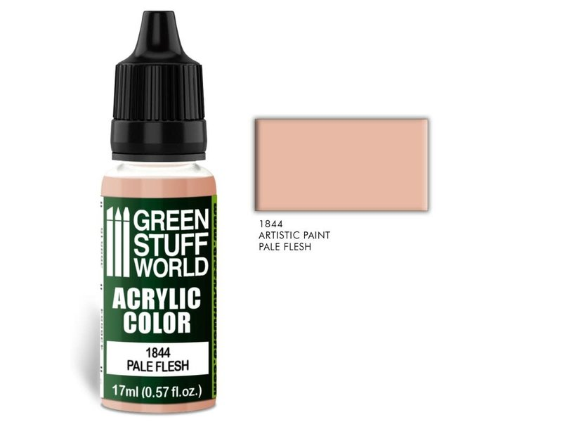 Green Stuff World GSW Acrylic Color PALE FLESH (1844)