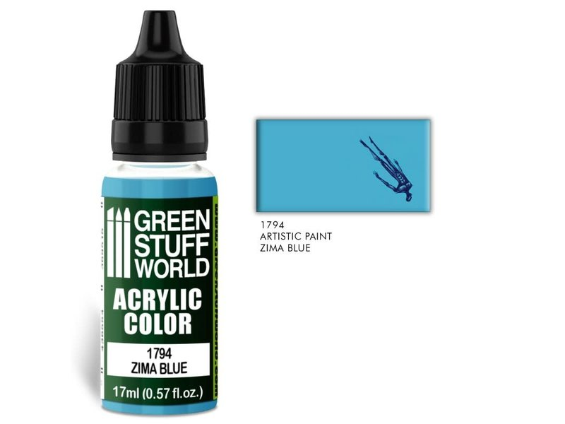 Green Stuff World GSW Acrylic Color ZIMA BLUE (1794)