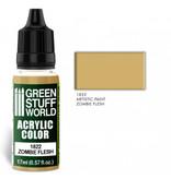 Green Stuff World GSW Acrylic Color ZOMBIE FLESH (1822)