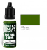 Green Stuff World GSW Acrylic Color WARCRY GREEN (1799)