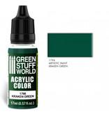 Green Stuff World GSW Acrylic Color KRAKEN GREEN (1796)