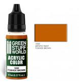 Green Stuff World GSW Acrylic Color FOXHIDE BROWN (1830)