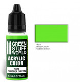 Green Stuff World GSW Acrylic Color FLUBBER GREEN (1820)