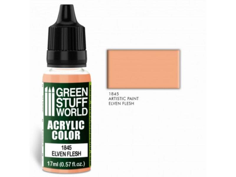 Green Stuff World GSW Acrylic Color ELVEN FLESH (1845)