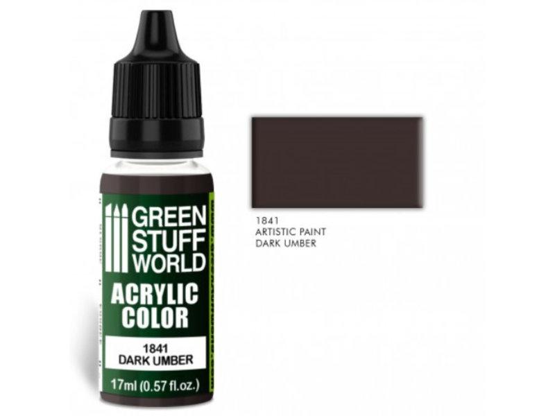 Green Stuff World GSW Acrylic Color DARK UMBER (1841)
