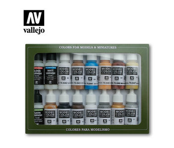 Folkstone Specialist Paint Set (16 Colors) (70.102)
