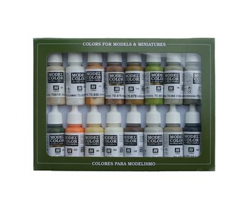 Earth Tones Paint Set (16 Colors) (70.141)