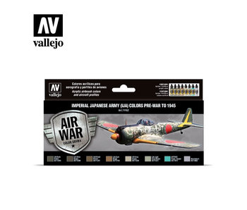 Imperial Japanese Army Colors Model Air Paint Set (8 Colors) (71.152)