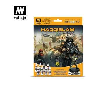Infinity Haqqislam Miniature Paint Set (8 Colors) (70.237)